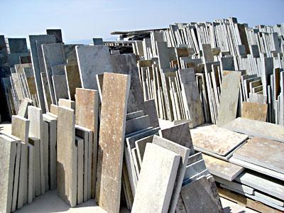Neochori stair tiles