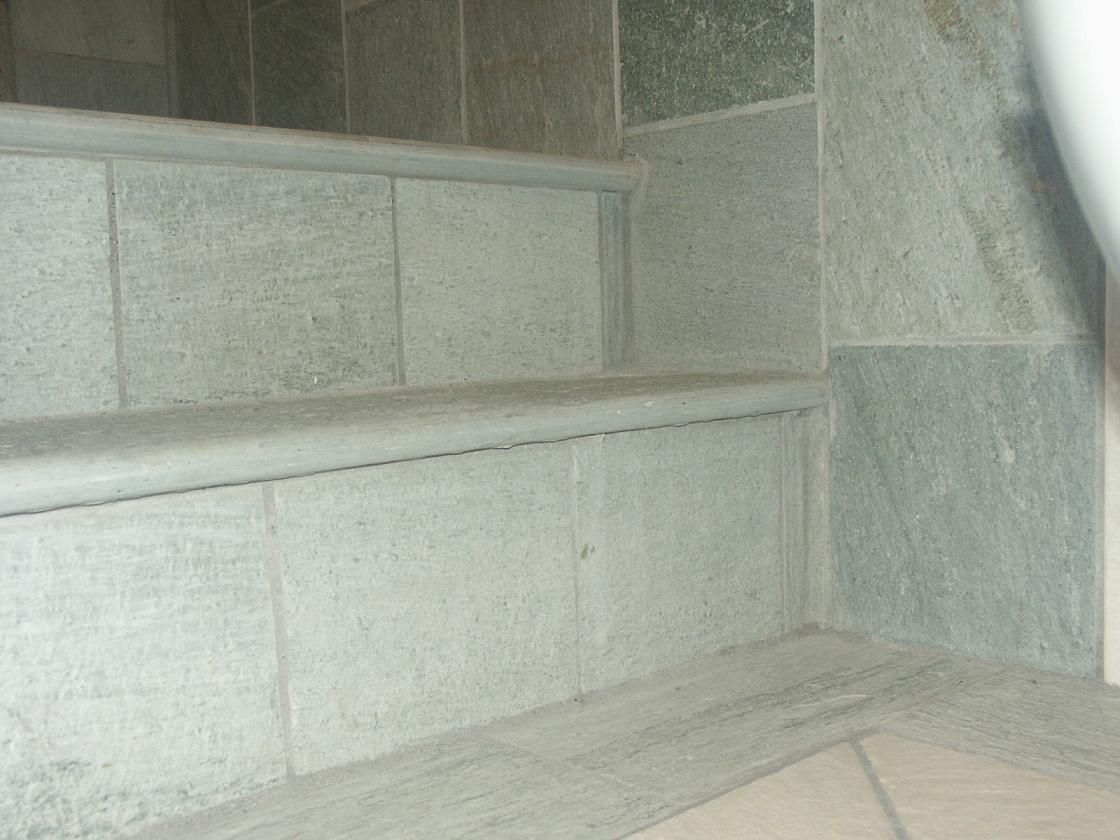 Convex Neochori stair tiles