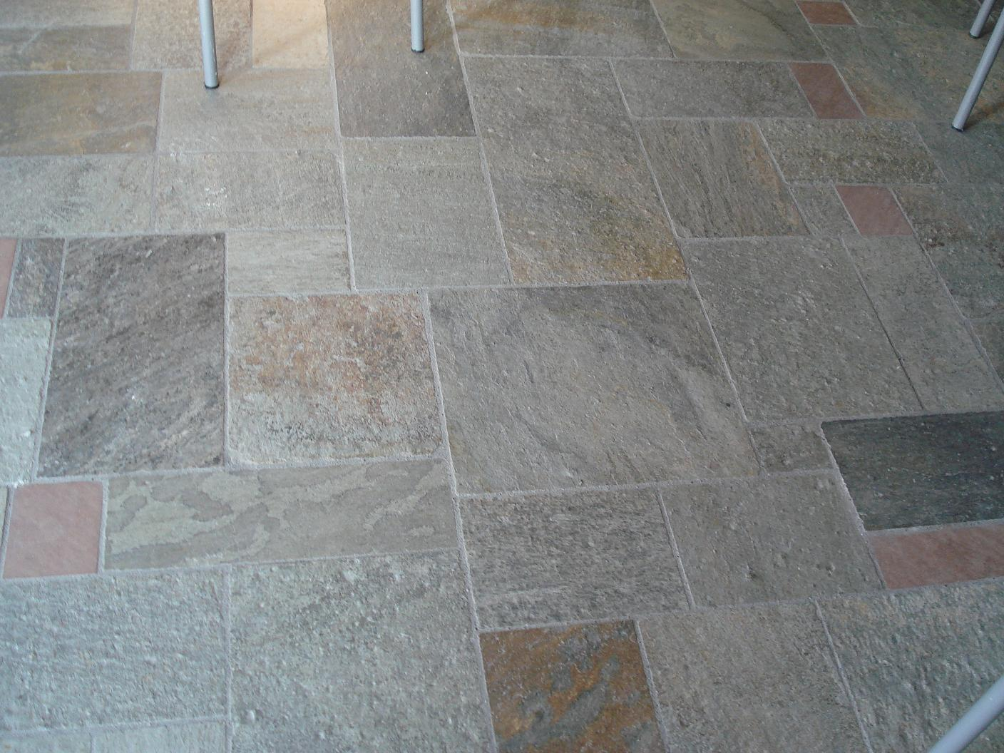 Coloured Neochorion Floor Tiles
