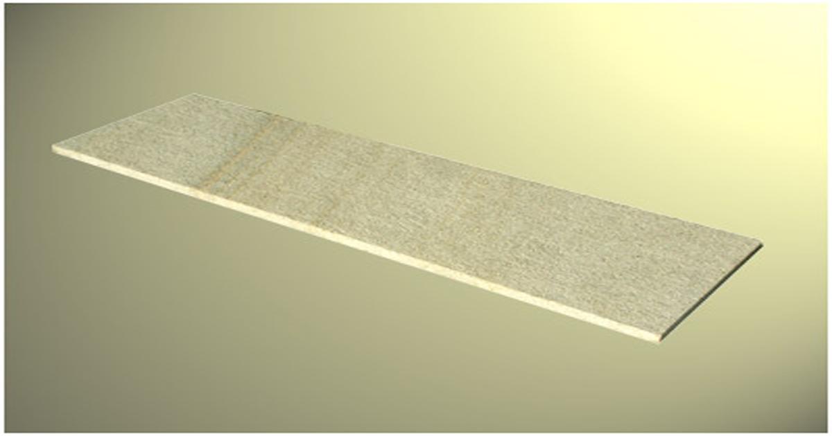 Beige granite stair tiles