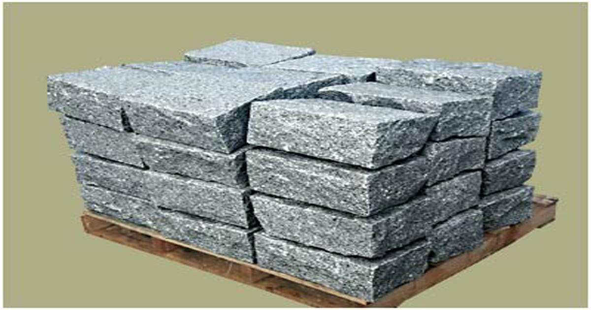 Grey Granite Corner Stones
